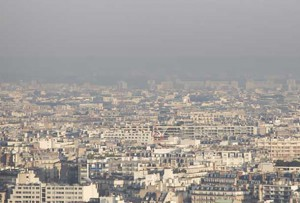 Paris is working to reduce smog - Photo credits: Jean-Baptiste GURLIAT - Paris City Hall