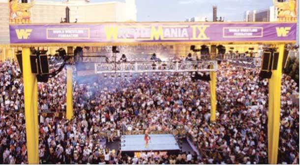 Ceasar's Palace Wrestlemania