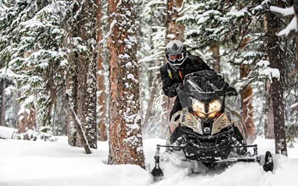 The newest Ski-Doo models were unveiled in Las Vegas today