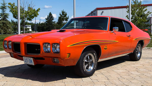 A 1970 Pontiac GTO Ram Air III was donated by local supporter Harvey Smith during the organization's signature week-long camp in July of 2014. The car was auctioned off online with the help of George Badanai.