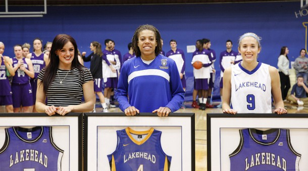 Senior's Night is emotional for Lakehead Thunderwolves.