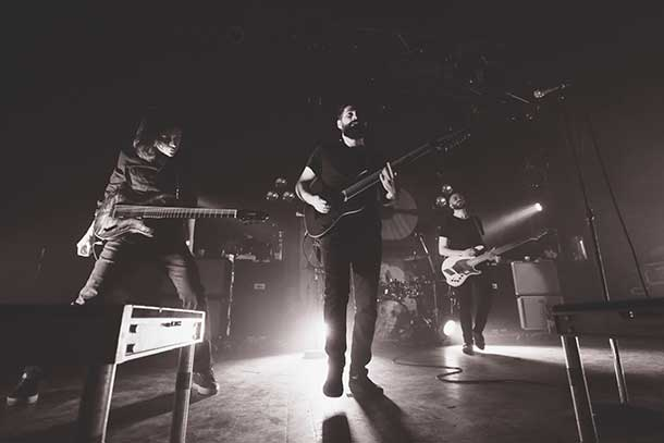 Periphery on stage in Toronto - Photo by Damien Gilbert -Epica Pictures