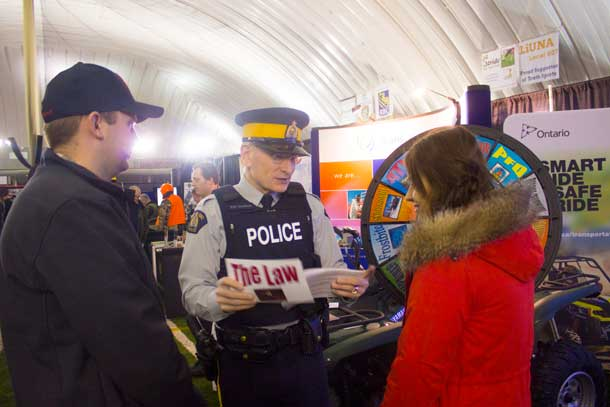 RCMP Constable Jacobson is sharing safety tips for ATV riders