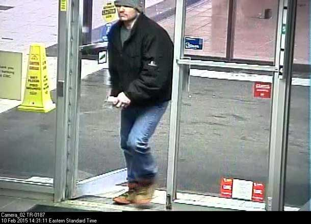 Bank Robbery Suspect 3
