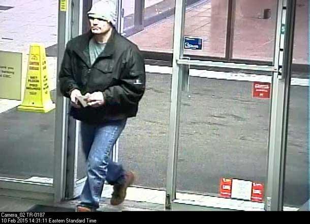 Thunder Bay Police Seek Bank Robbery Suspect 1