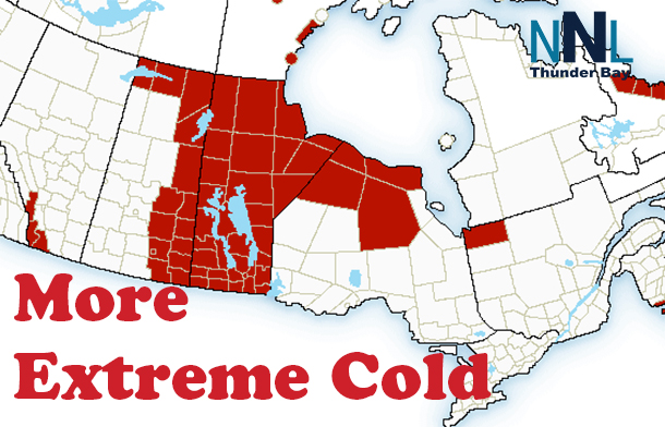 Extreme Cold Warnings in effect in Far North and Manitoba