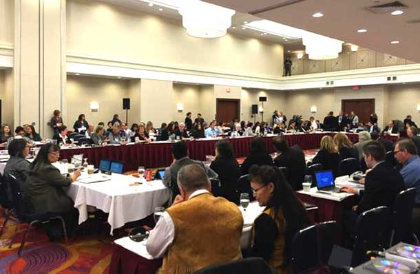 National Round Table Meeting in Ottawa on Murdered and Missing Aboriginal Women