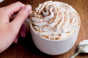 Starbucks baristas will handcraft Tiramisu and Carmel Flan Lattes.