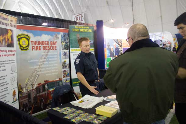 Do you have questions about keeping your home or camp safer from fire? Thunder Bay Fire Rescue is on hand to help