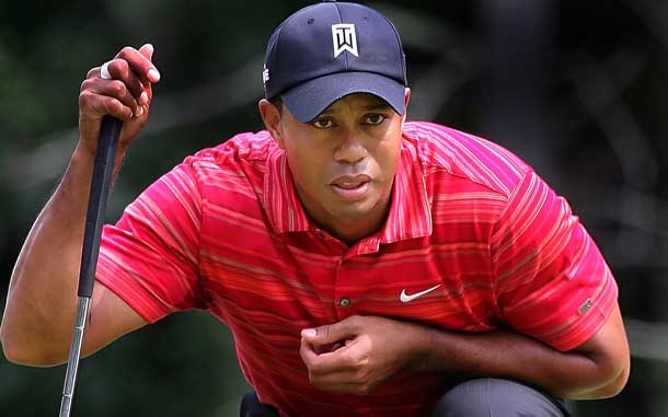 Tiger Woods is taking a break from tournament golf