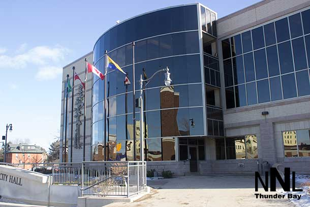 The weather outside is far cooler than the heat inside Thunder Bay City Hall after last night's meeting on the Event Centre