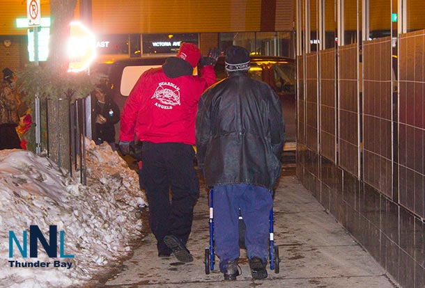 The Guardian Angels are new to Thunder Bay and already making a difference assisting people.