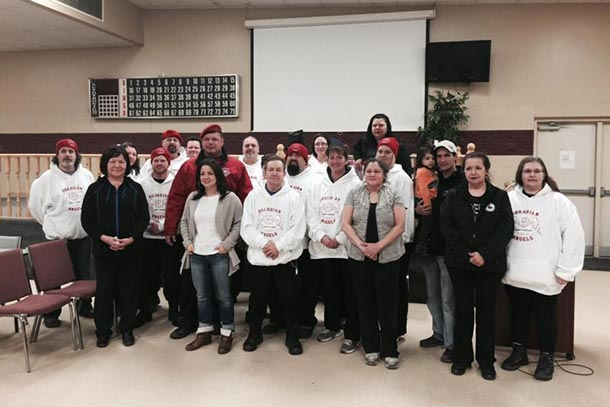 The Guardian Angels way is to work with communities, Fort William First Nation and the Guardian Angels are continuing that process.