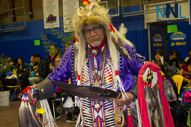 Jim Peters Chicago is one of the people who helps many people. Dancing at the LUNSA Pow Wow and offering insight to youth across the region.