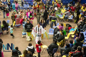 Kyle and Kristen - Photo by Emery Slipperjack from Fort Hope FN