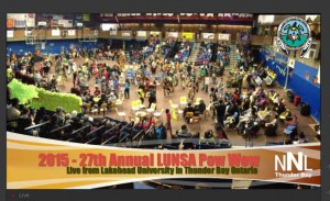 The 2015 LUNSA Pow Wow will be live on NetNewsLedger
