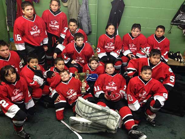 Winners at the Little NHL Tournament