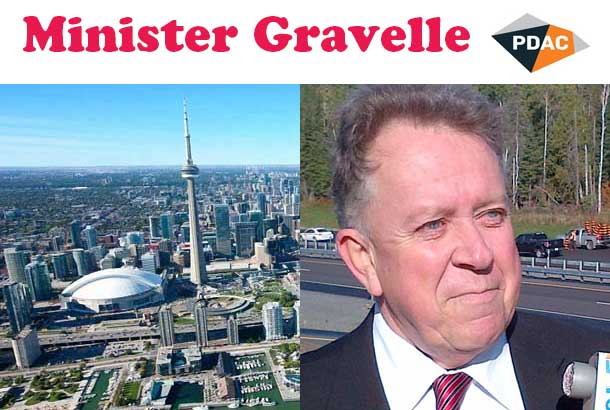 Minister of Northern Development and Mines Michael Gravelle