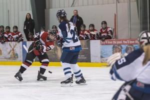 Sportop Queens in action in Winnipeg - Photo by Terry Lee