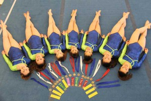 The Women's Artistic Gymnastics Provincial squad from Ultimate Gymnastics