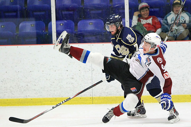 Toronto Patriots Dumped the Dryden Ice Dogs in Dudley Hewitt Cup action