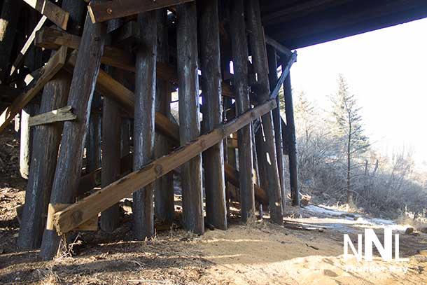 CN Rail James Street Swing Bridge