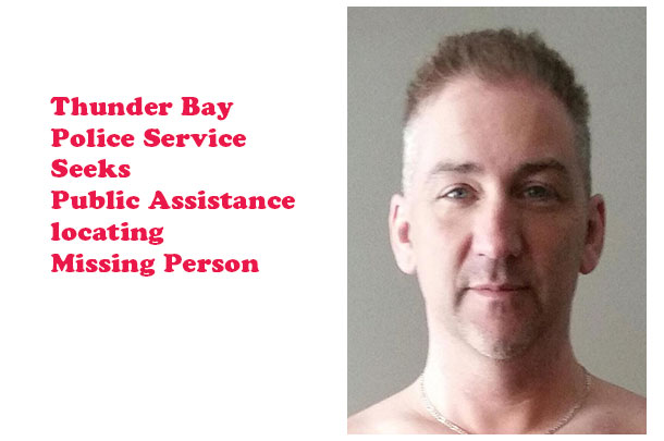 Thunder Bay Police Service Seeking Missing Person