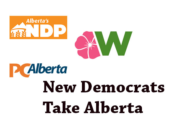Voters in Alberta have voted for change, electing an NDP Government