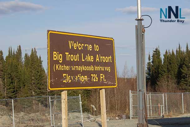 Airport at Big Trout Lake