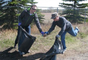 Image from Calgary Clean up (source: Twitter)