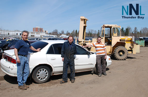 Recycling older vehicles drives world-class healthcare across Northwestern Ontario