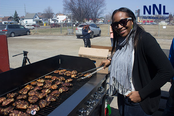 The aroma of grilled chicken is filling the air all over downtown Fort William. Folklore Festival lets you try the best foods from around the world.