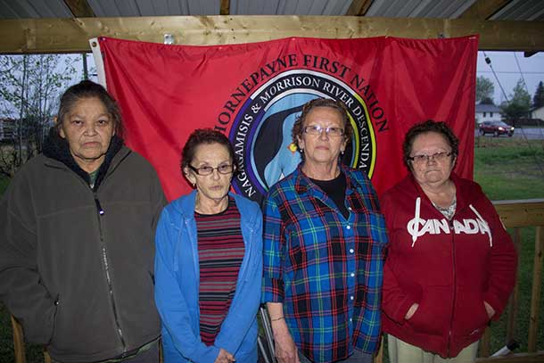 Elders from the Hornepayne First Nation have been occupying the NAN Head Office on Fort William First Nation since April 8 2015.