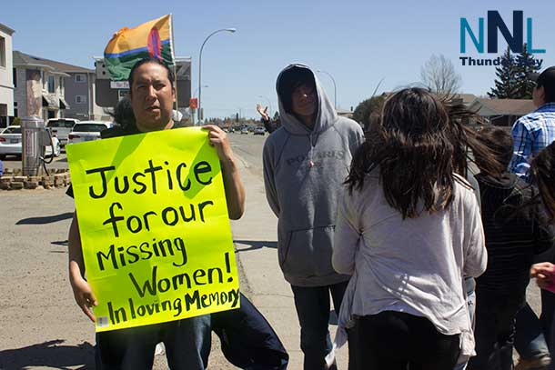 Walkers are seeking justice for Missing and Murdered Aboriginal Women