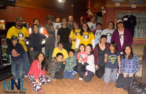 Mishkeegogaming Walkers in Ignace on Saturday May 18 2015