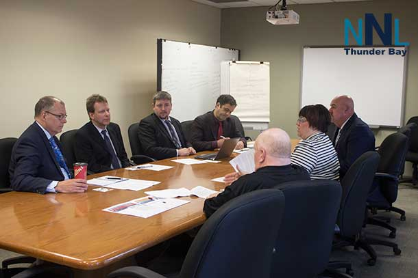 Northwestern Ontario Municipal Association meets with National Energy Board in Thunder Bay