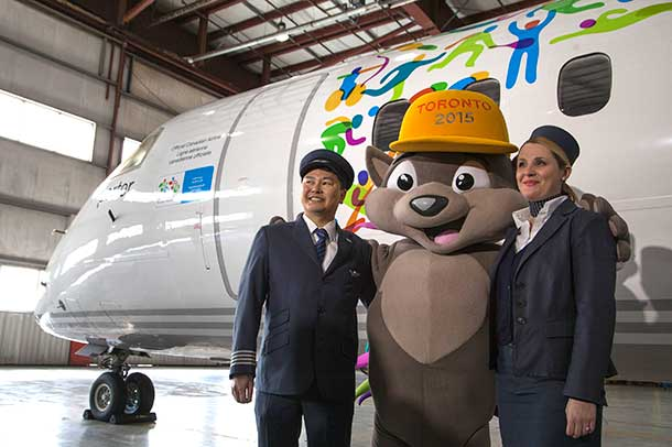 Porter Air is a proud sponsor of the Pan Am Games Torch Relay