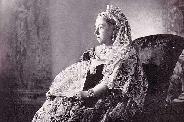 Queen Victoria as many remember her