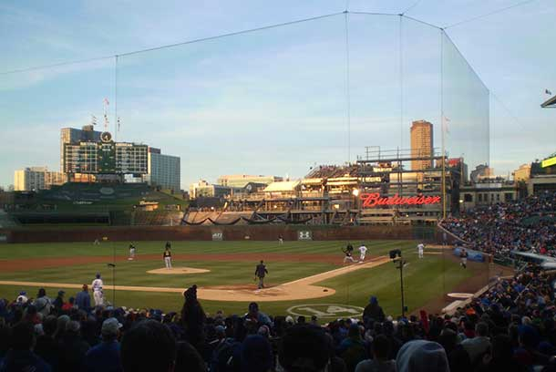 Wrigley Field a theatre for Baseball glory