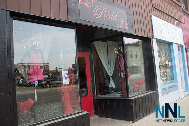 Redd Boutique on May Street was broken into last night.