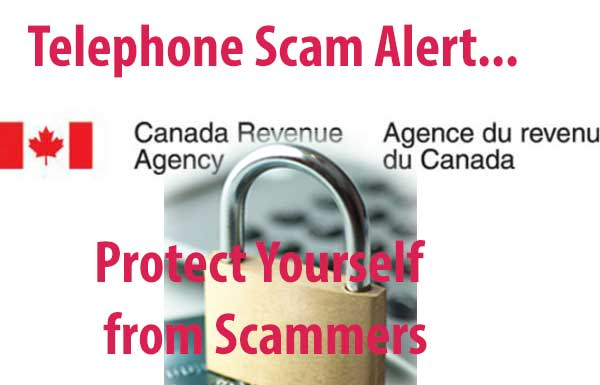 Canada CRA Phone Call Scam Fraud Recording 2018