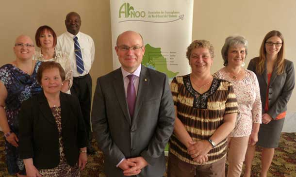 Donald Pelletier was elected to the position at AFNOO's Annual General Meeting held May 30, 2015 at the Prince Arthur Hotel.