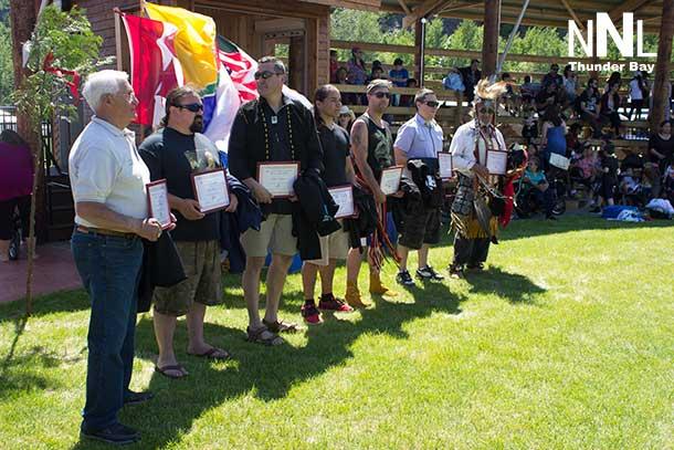 Honouring the Men at National Aboriginal Day