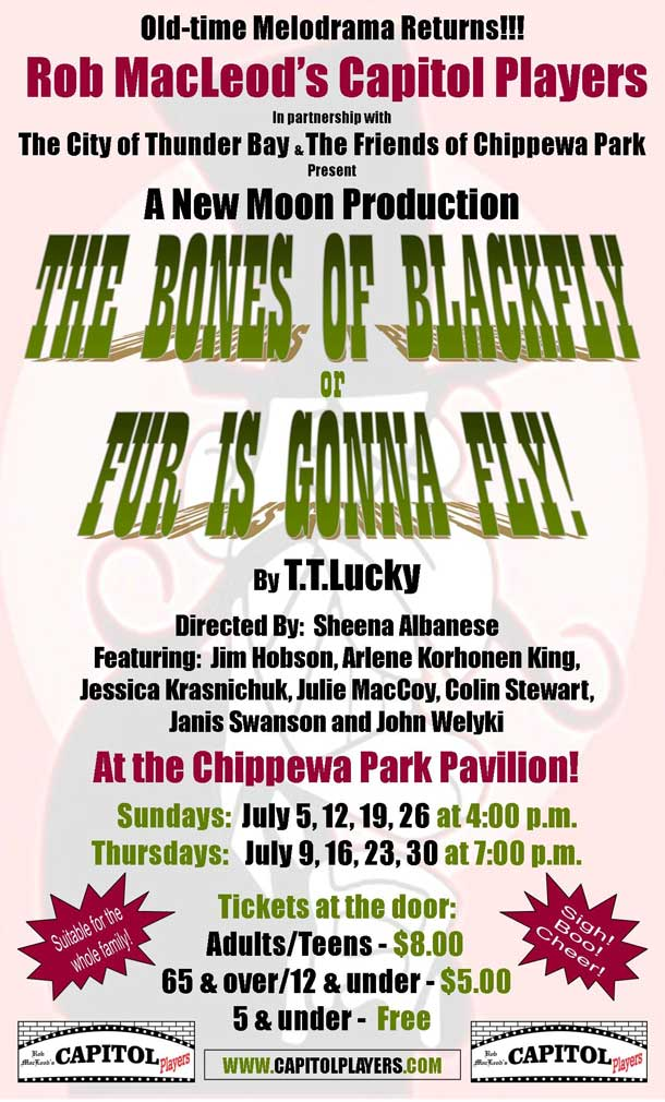 melodrama Chippawa Park