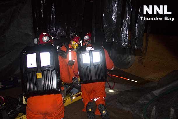 Ontario Mine Rescue competition
