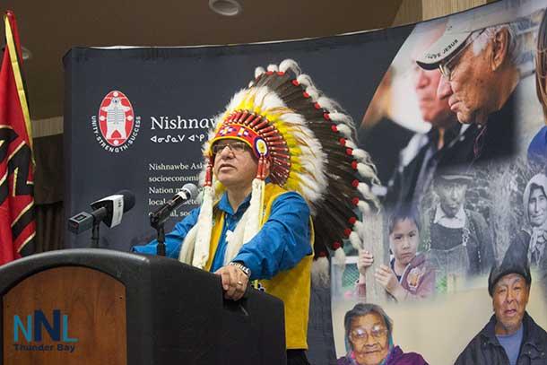 Nishnawbe-Aski Grand Chief Harvey Yesno