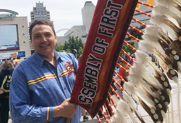Assembly of First Nations National Chief Perry Bellegarde - Photo by Annie Wenjack