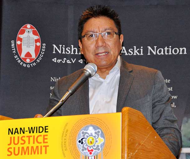 Alvin Fiddler has been elected Grand Chief of Nishnawb-Aski Nation