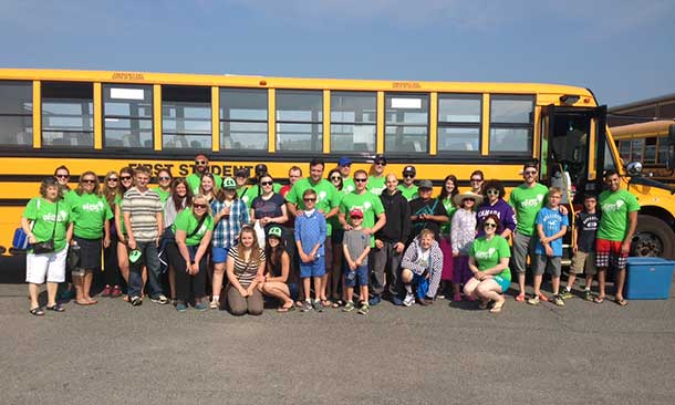 Campers Set to Depart to Camp Quality 2015