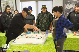 Oshki Graduation celebration at Goldcorp Musselwhite Mine